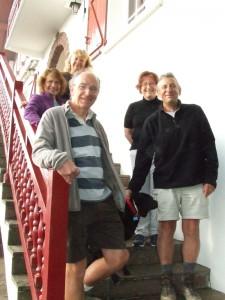 Patrick, Christian, Francoise, Suzanne, Brigitte et Princesse